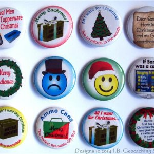 xmas buttons